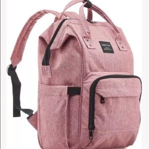 NEW KIDDY CARE DIAPER BAG BACKPACK PINK